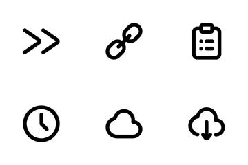 Round UI Part 1 Icon Pack
