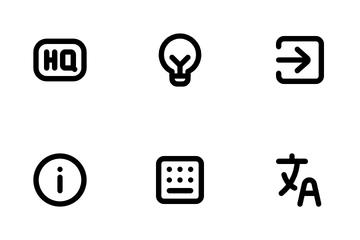 Round UI Part 2 Icon Pack