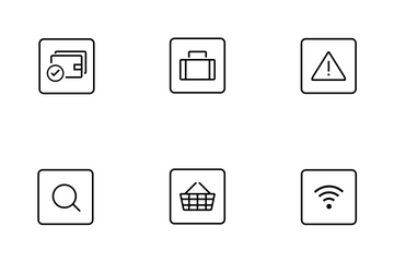 Rounded Square Web Icon Icon Pack
