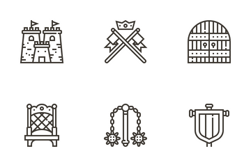 Royalty Elements Icon Pack