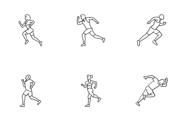 Running Icon Icon Pack