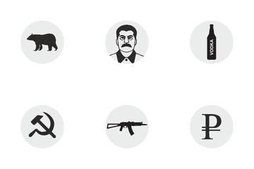 Russia Symbol  Icon Pack