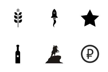 Russian Symbol Vol 1 Icon Pack