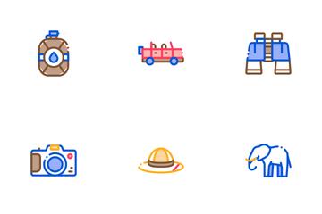 Safari Travel Icon Pack