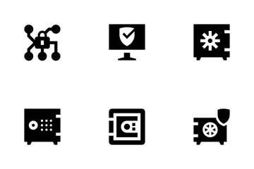 Safe And Security Icon Pack