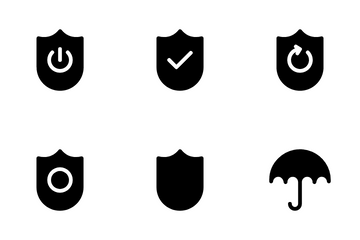 Safety Guard Icon Pack