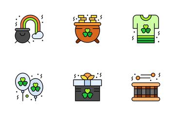 Saint Patrick Icon Pack