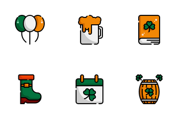 Saint Patrick Day Icon Pack