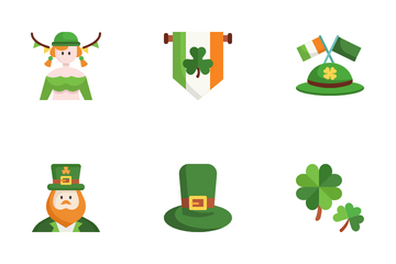 Saint Patrick Day Icon Pack