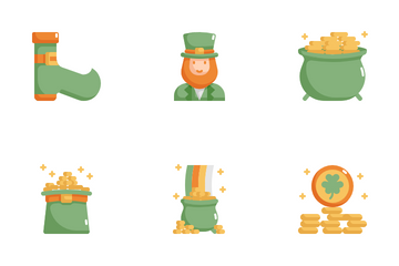 Saint Patrick's Day Icon Pack