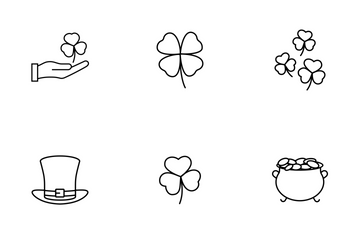 Saint Patrick's Day Collection Icon Pack