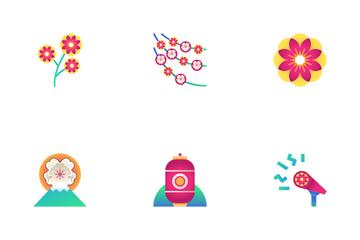 Sakura Festival Icon Pack
