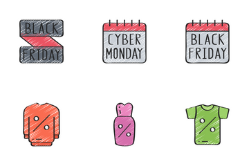 Sales (Black Friday) - Sketchy Icon Pack