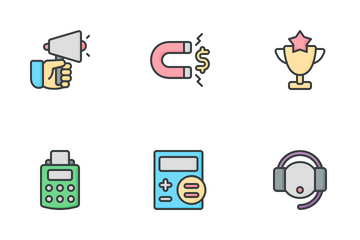 Sales Marketing Icon Pack