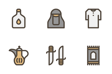 Saudi Arabia Icon Pack
