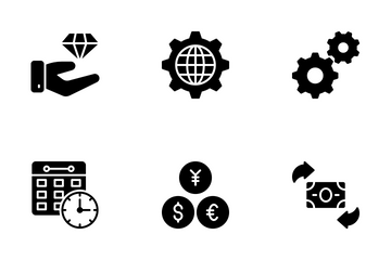 Saving And Investment Icon Pack