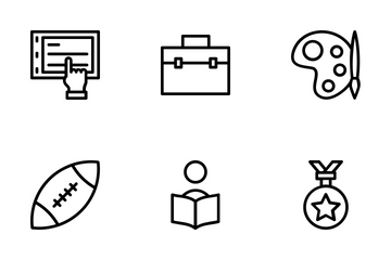 School And Education 1 Icon Pack