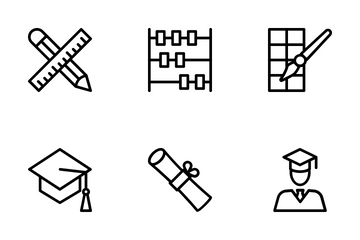 School And Education 2 Icon Pack