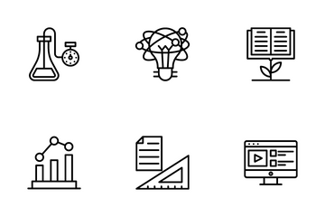 School And Education Icon Pack