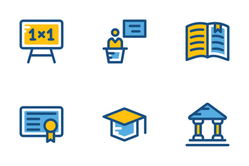 School And Education Cute Icons 1 Icon Pack