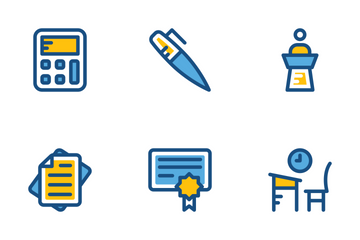 School And Education Cute Icons 2 Icon Pack