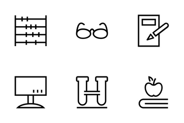 School And Education Icons Icon Pack