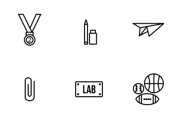 School And Education Vol 2 Icon Pack