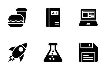 School And Education Vol 3 Icon Pack