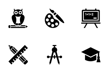 School And Education Vol 4 Icon Pack