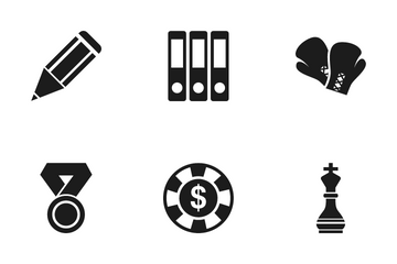 School And Game Icon Pack