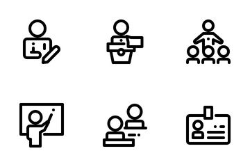 School And University Icon Pack