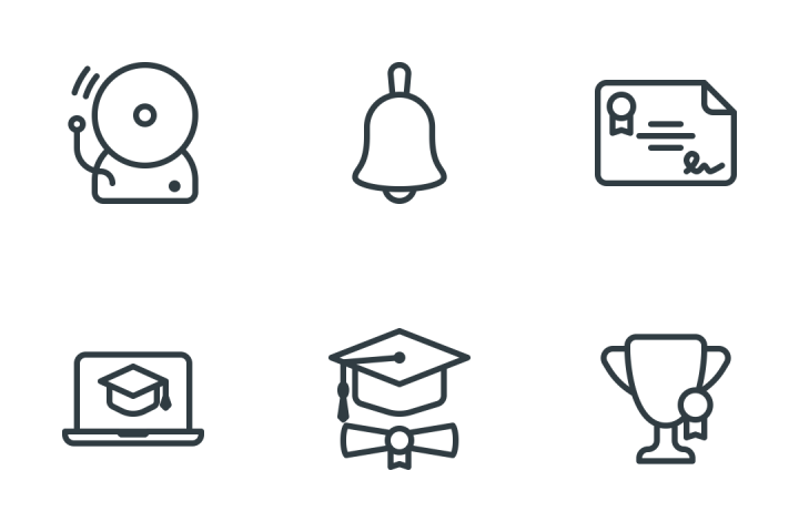 School & Education Icon Pack