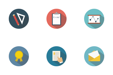 School Education Icon Pack
