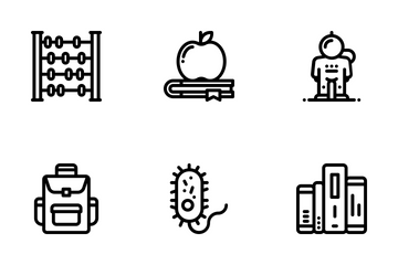 Science And Education Icon Pack
