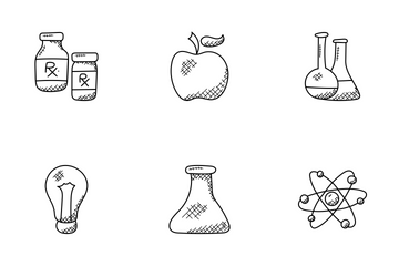 Science And Fiction Doodle Icons  Icon Pack