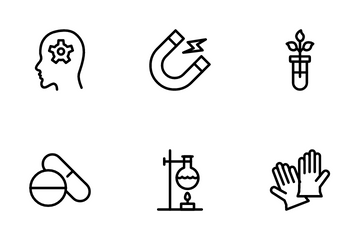 Science And Laboratory Icon Pack