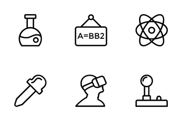 Science And Technology 1 Icon Pack