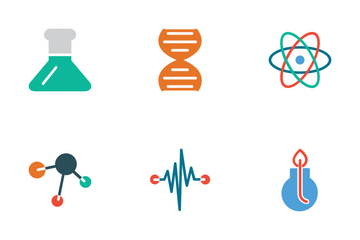 Science Colored Icons Icon Pack