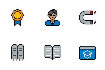 Science Education Icon Pack