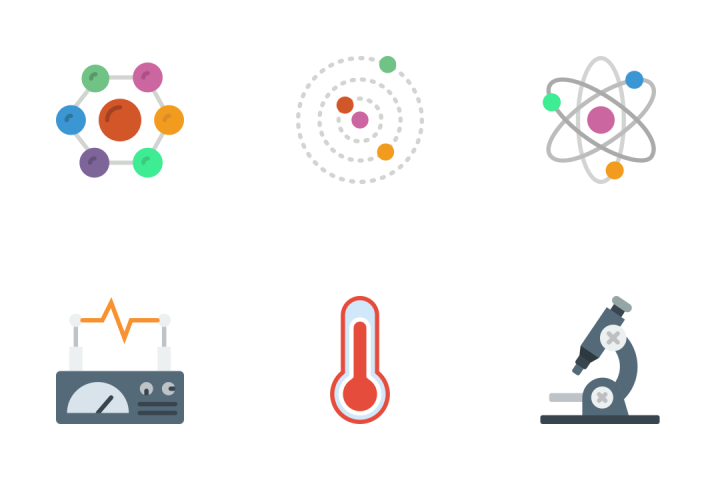 Science - Flat Icon Pack