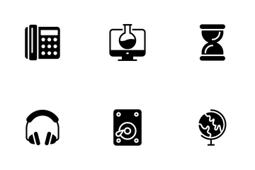 Science & Technology Icon Pack
