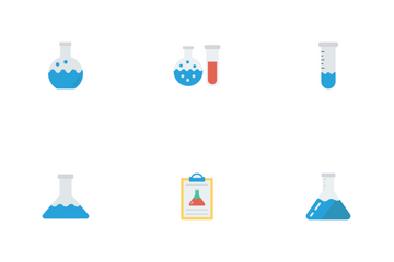 Science & Technology Flat Icons Icon Pack