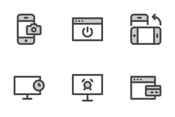 Screen Parts Vol 1 Icon Pack