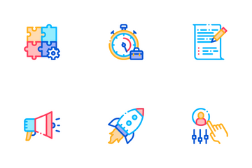 Scrum Agile Icon Pack