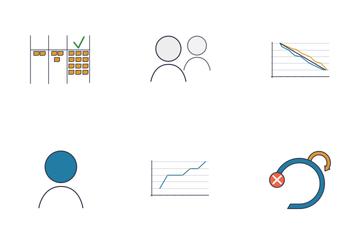 Scrum Methodology Icon Pack