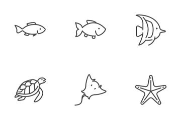 Sea Creature Icon Pack