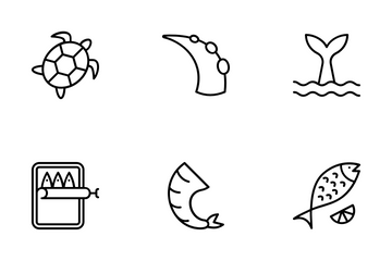 Sea Food Icon Pack