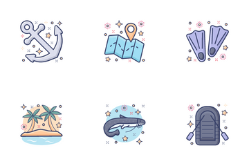 Sea Life Icon Pack