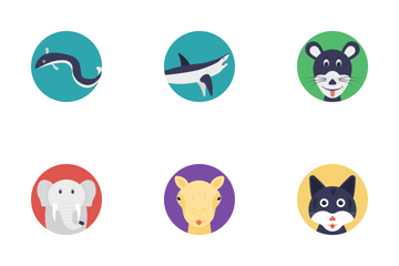 Sea Life And Animals 1 Icon Pack