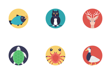Sea Life And Animals 2 Icon Pack